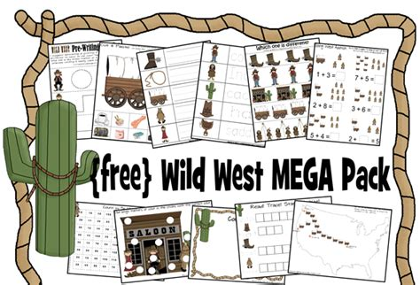 educational freebie free west printable pack money 155 | Screen Shot 2013 02 05 at 7.19.14 AM