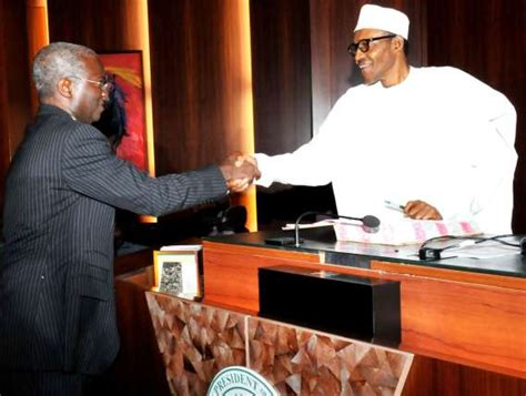 fashola resumes work as minister read what workers did