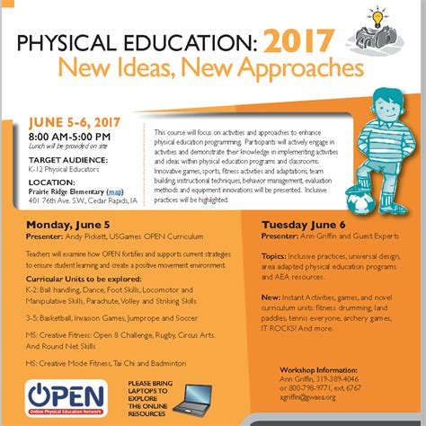 New Ideas, New Approaches 2017