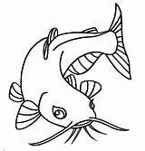 Catfish Coloring Pages Eye Eyes Drawing Sketch Cute Printable Bluegill Beuatiful Animal Clipart Preschool Scary Getcolorings Getdrawings Pencil Place Print sketch template