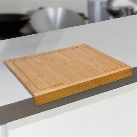 planche en bois cuisine planche à découper en bambou pour plan de travail achat