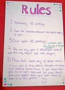 image result for open when letter rules friend gifts With letters to my boyfriend book
