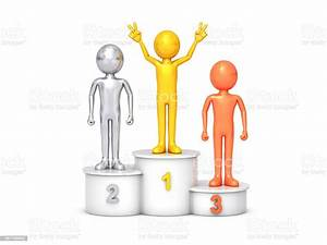 Sport, Podium, For, The, First, Second, And, Third, Place, Stock