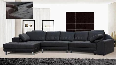 canapé style italien canapé d 39 angle en cuir italien style mobilier moss