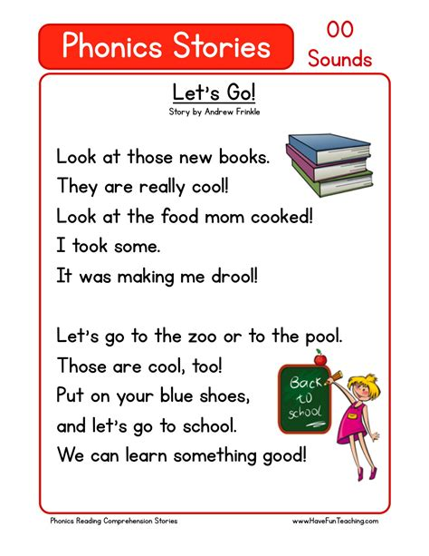 let s go reading comprehension reading