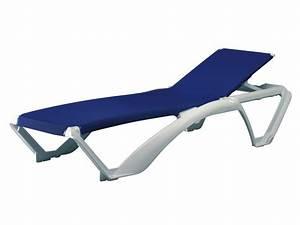 Bain De Soleil En Resine : lot de 2 bain de soleil marina r sine et textil ne bleu 55855 ~ Teatrodelosmanantiales.com Idées de Décoration