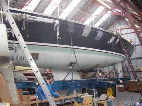 How To Repair Osmosis On A Boat by Repair To Teak Decks Osmosis Bow Thrusters Antifouling