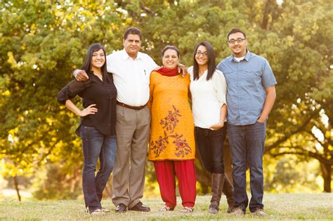 The Bhandal Family {portraits}