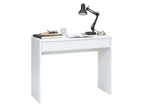 bureau pas cher conforama bureau 1 tiroir checker coloris blanc vente de bureau