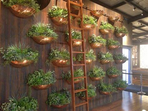 Indoor Herb Garden Pot Planters Ideas by Brass Herb Pot Wall Edible Garden Edible