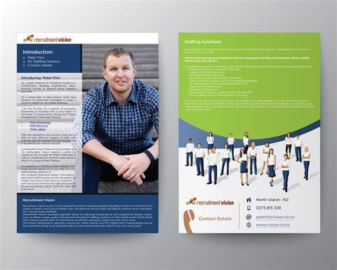 recruitment brochure flyer design brochure flyer