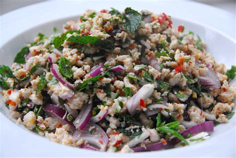 thai salad thai salads candied violets