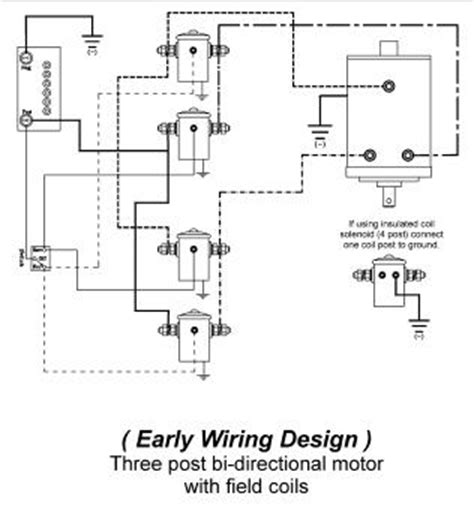 new winch solenoid for warn 12 volt heavy duty 28396 ebay