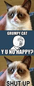 Y U NO/Grumpy cat crossover :-) | Y U no | Pinterest ...