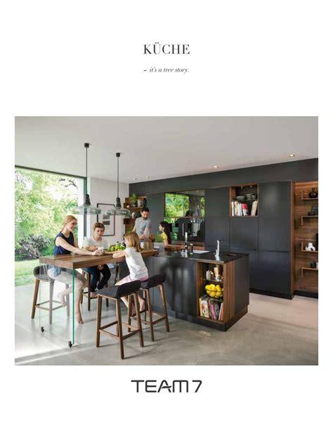 team 7 küchen katalog team7 katalog kueche de by perspektive werbeagentur issuu