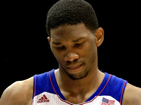 joel embiid denies weight issues