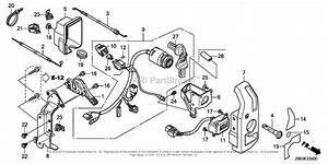 Honda Engines Gx630r Qzb3 Engine  Jpn  Vin  Gcbek