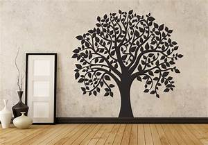 Flowers and trees wall decals home decor tree