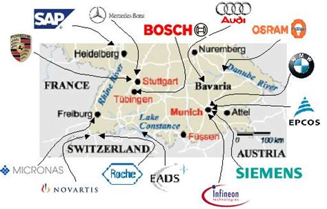 Wep  Industry Around South West Germany
