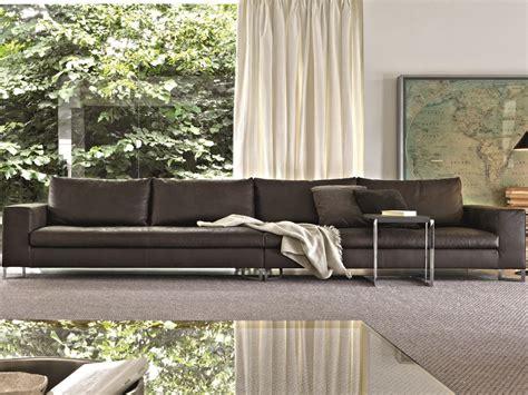canapé large large canapé en cuir by molteni c design ferruccio laviani