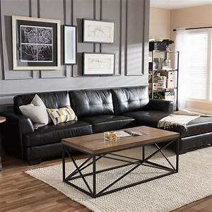 best 25 black leather couches ideas on pinterest living With black sofa living room design
