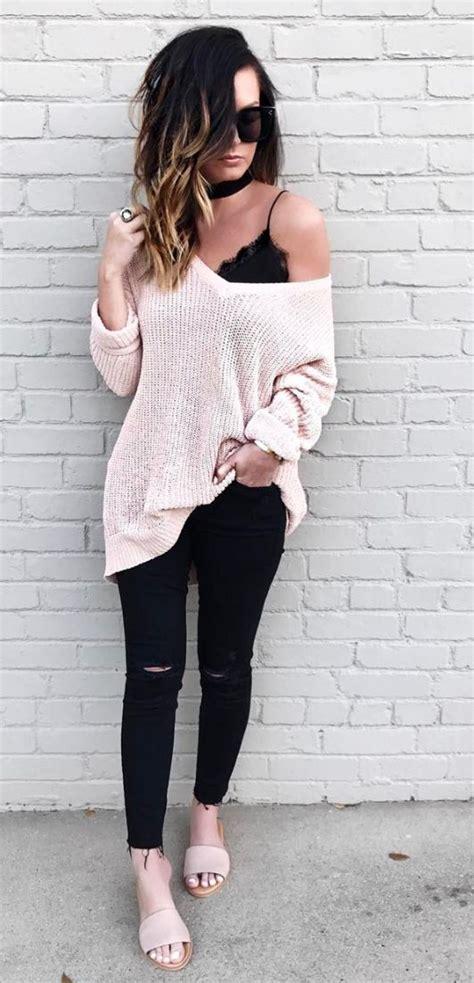 25+ bu00e4sta Oversized sweater outfit idu00e9erna pu00e5 Pinterest | Oversize-tru00f6jor Byglar och Jeanshorts
