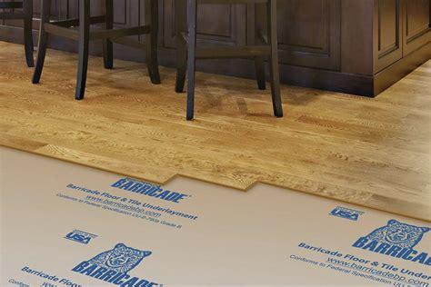 barricade floor  tile underlayment jlc