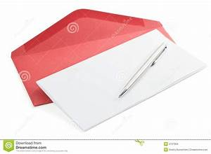 letter paper and red envelope stock images image 4737904 With letter paper and envelopes
