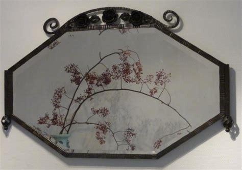 spiegel deco antieke spiegels deco spiegel facet geslepen in frame ijzer 1 02 m x 0 64 m no80149