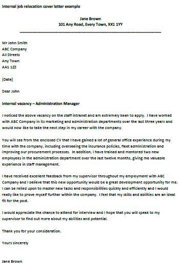 internal job relocation letter pensieve job cover