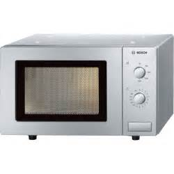 mikrowelle design bosch hmt72m450b brushed steel microwave oven
