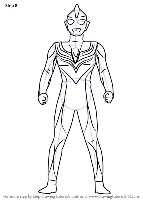 learn   draw ultraman tiga ultraman step  step drawing tutorials