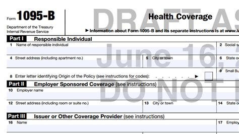 health insurance form 1095 b meet the 2015 ppaca tax forms