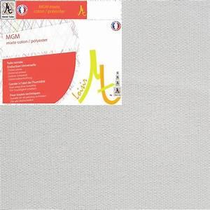 Toile Blanche A Peindre : rouleau de toile blanche peindre polyester coton moyen ~ Premium-room.com Idées de Décoration