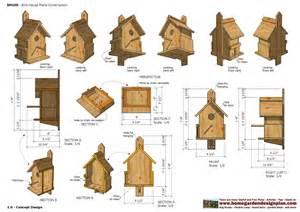 Free Bird House Construction Plans