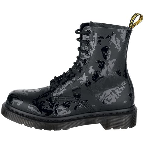 Dr Martens Skull Boots Dr Martens Boots Goth Boots