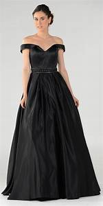 Off The Shoulder A Line Satin Ball Gown Romantic Gowns