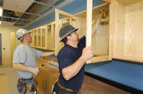 kitchen cabinets put together yourself cabinetmaker careers in construction