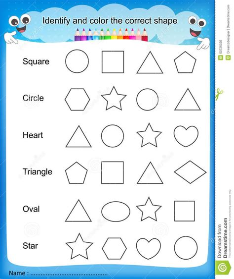 Shapesworksheetsforkindergartenprintablepreschoolenglishdigraphabitlikethisidentify