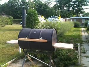 Fabriquer Un Barbecue Avec Un Bidon : barbecue charbon tuto ~ Dallasstarsshop.com Idées de Décoration