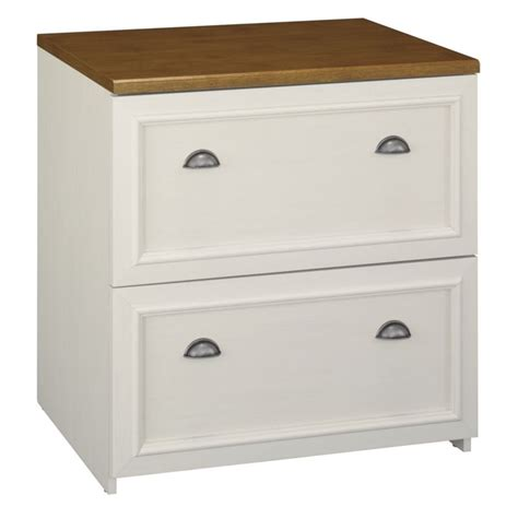 white lateral file cabinet bush fairview 2 drawer lateral wood file white filing