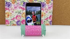 Schreibtisch Selber Gestalten : smartphone halter f r den schreibtisch iphone st nder mit washi tape selber bastel gestalten ~ Markanthonyermac.com Haus und Dekorationen