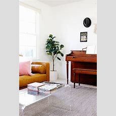 Home Tour Living Room & Article Sven Sofa Review See