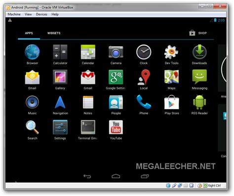 virtualbox for android android emulator megaleecher net