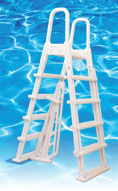 dominica pvc  frame entery ladder  pools