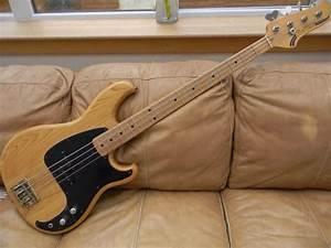 Vintage 1981 Ibanez Blazer Bass Guitar With Hard Case