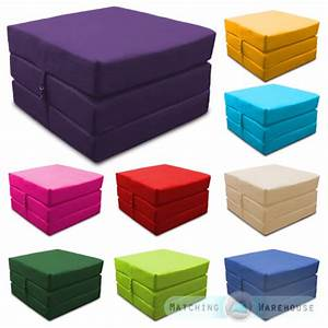 waterproof fold out cube guest z bed chair stool futon With cube sofa bed