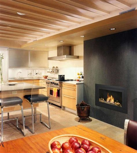 kitchen fireplace ideas 20 kitchen ideas with fireplaces