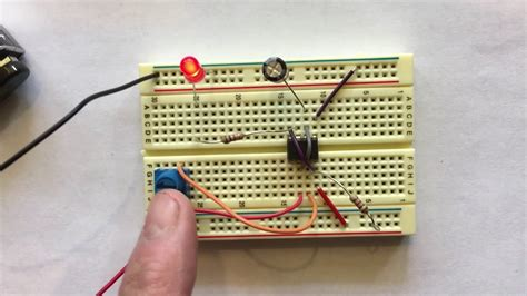 Breadboard Project Blinking Led With Timer