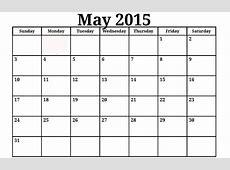 2015 Free Printable Monthly Calendar – 2017 printable calendar